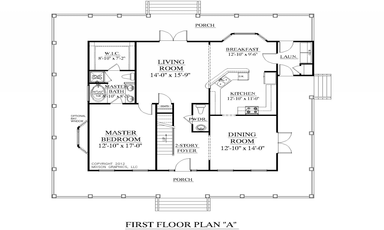 Two bedroom single story home 3 bedroom two story house for 3 bedroom 2 story house plans