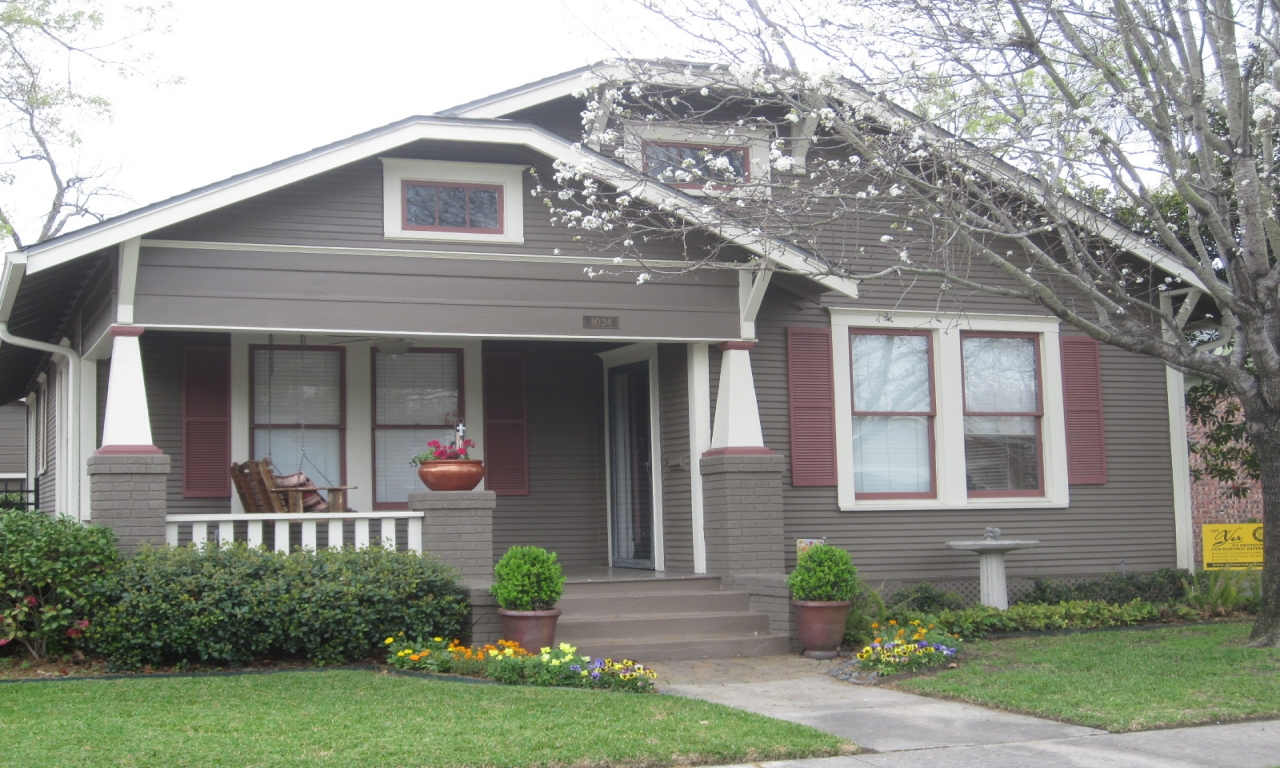Bungalow Exterior House Paint Color Combinations Craftsman Bungalow Exterior Paint Colors