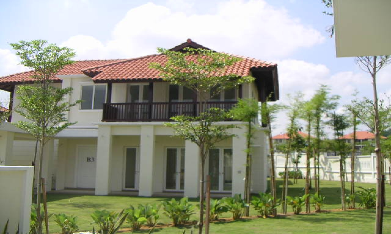 Bungalow houses in malaysia modern bungalow house design for Modern house design malaysia