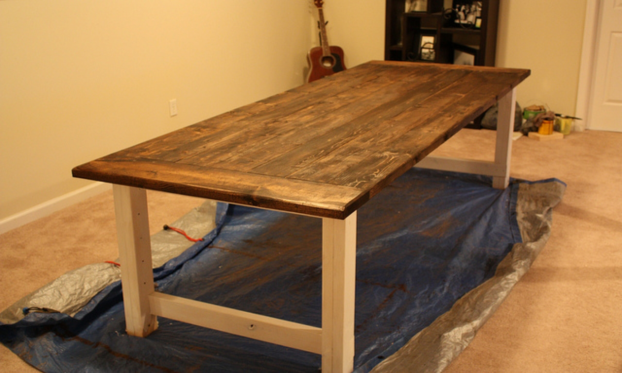 Rustic Farmhouse Dining Room Table Sets: Farmhouse Dining Room Table Rustic Farmhouse Dining Table