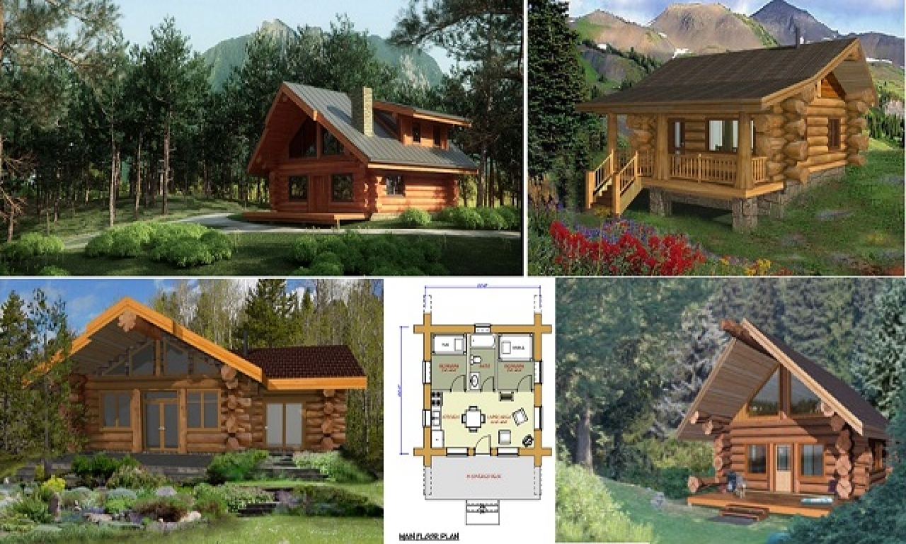 Log cabin plans under 1500 square feet small log cabin for Square log home plans
