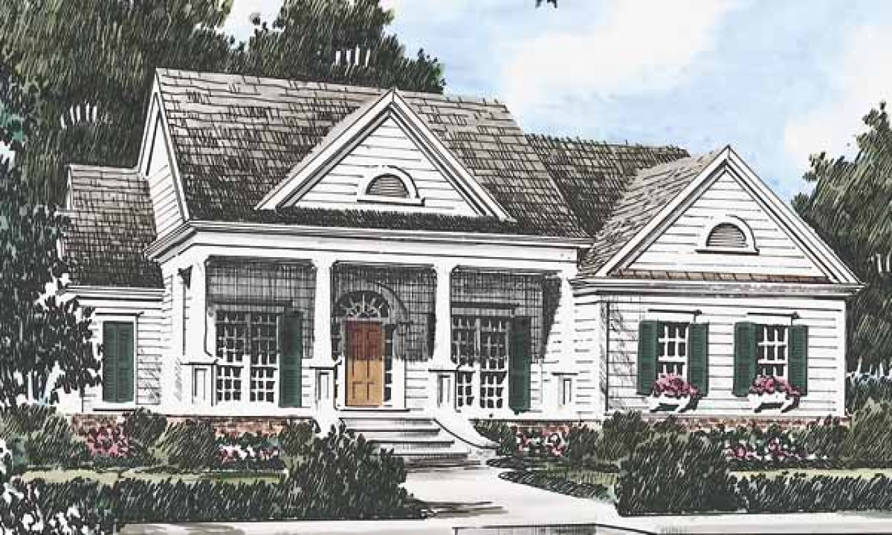 New southern living home plans southern living floor plans for Southern home plans with photos