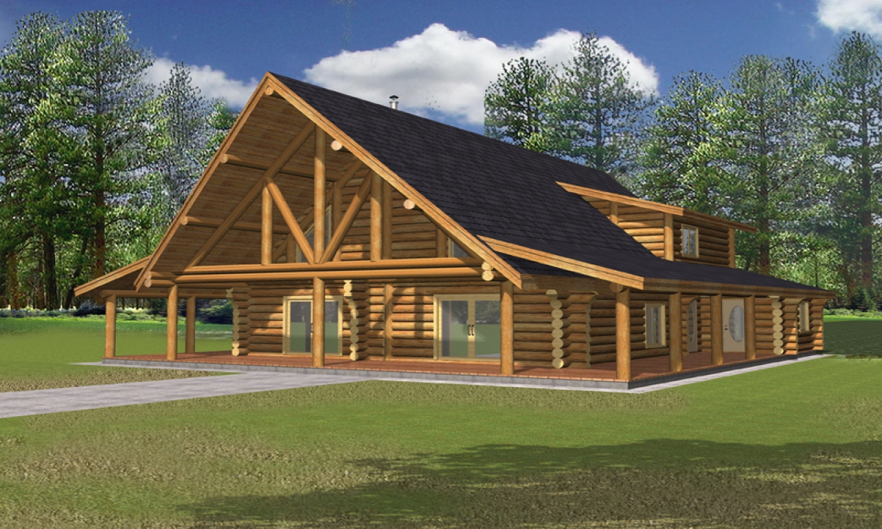 Rustic log home plans simple rustic cabin plans rustic for Simple rustic house plans