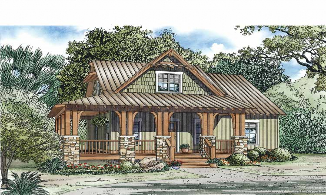 Small country cottage house plans tiny romantic cottage for Small country cabin plans