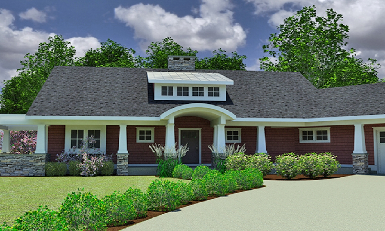 Small craftsman home house plans craftsman small house for Houzz home plans