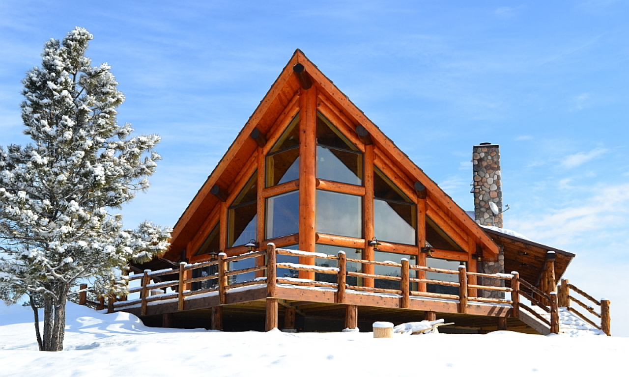 A frame chalet house plans chalet log home plans chalet for A frame log cabin floor plans