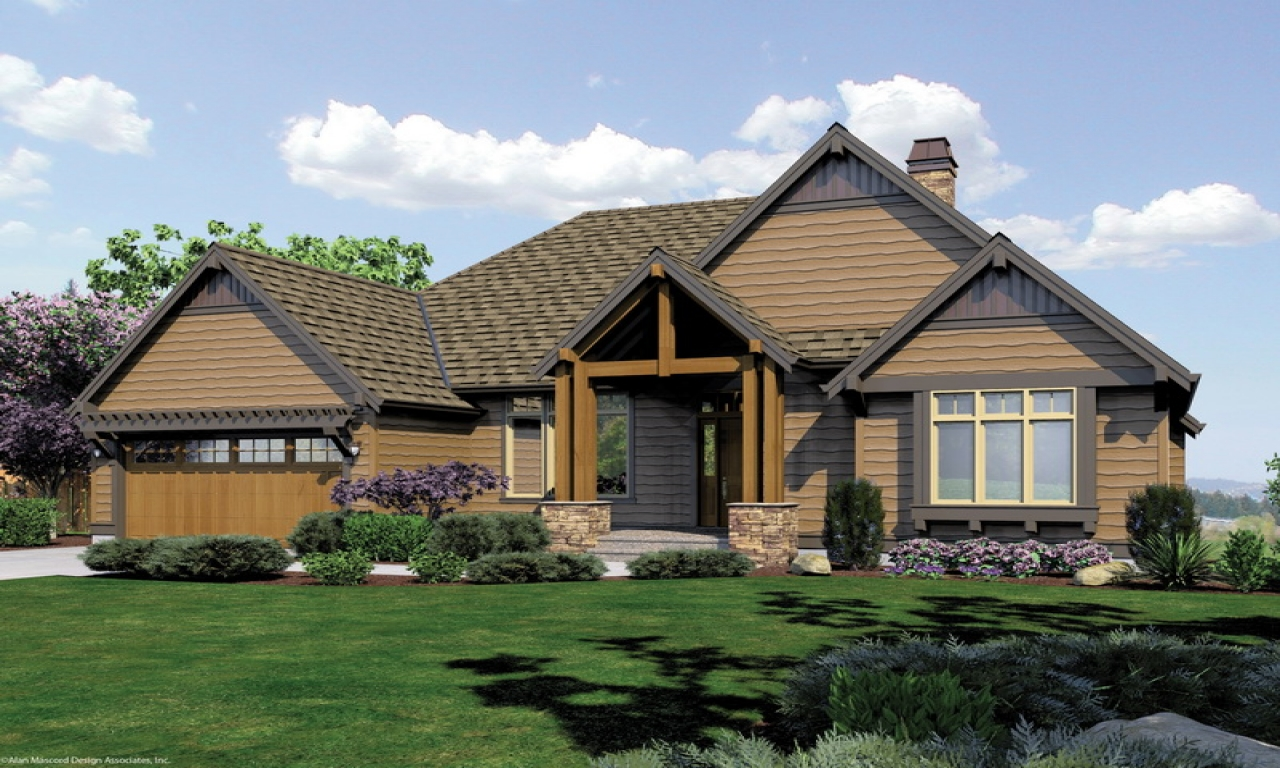 Award Winning Small Home Designs: Award-Winning Craftsman House Plans Craftsman Style House
