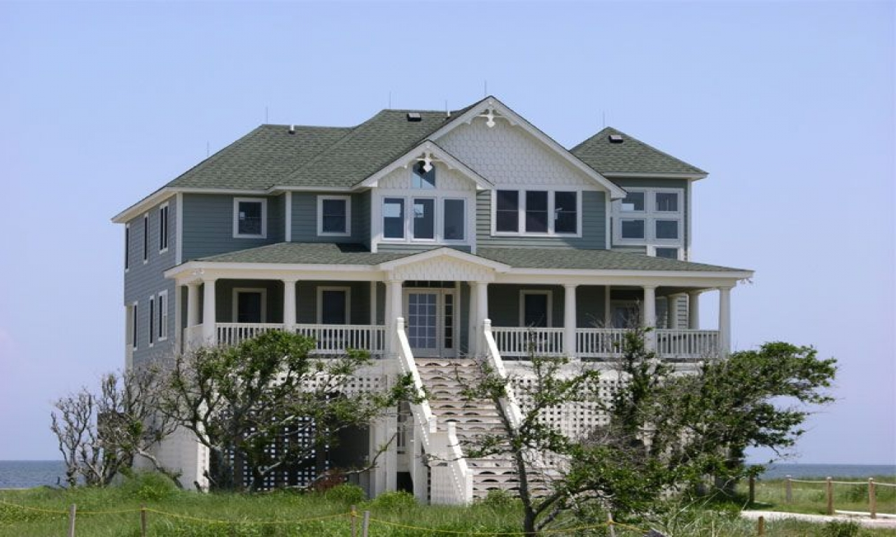 Beach house plans southern living elevated beach house for Southern coastal homes