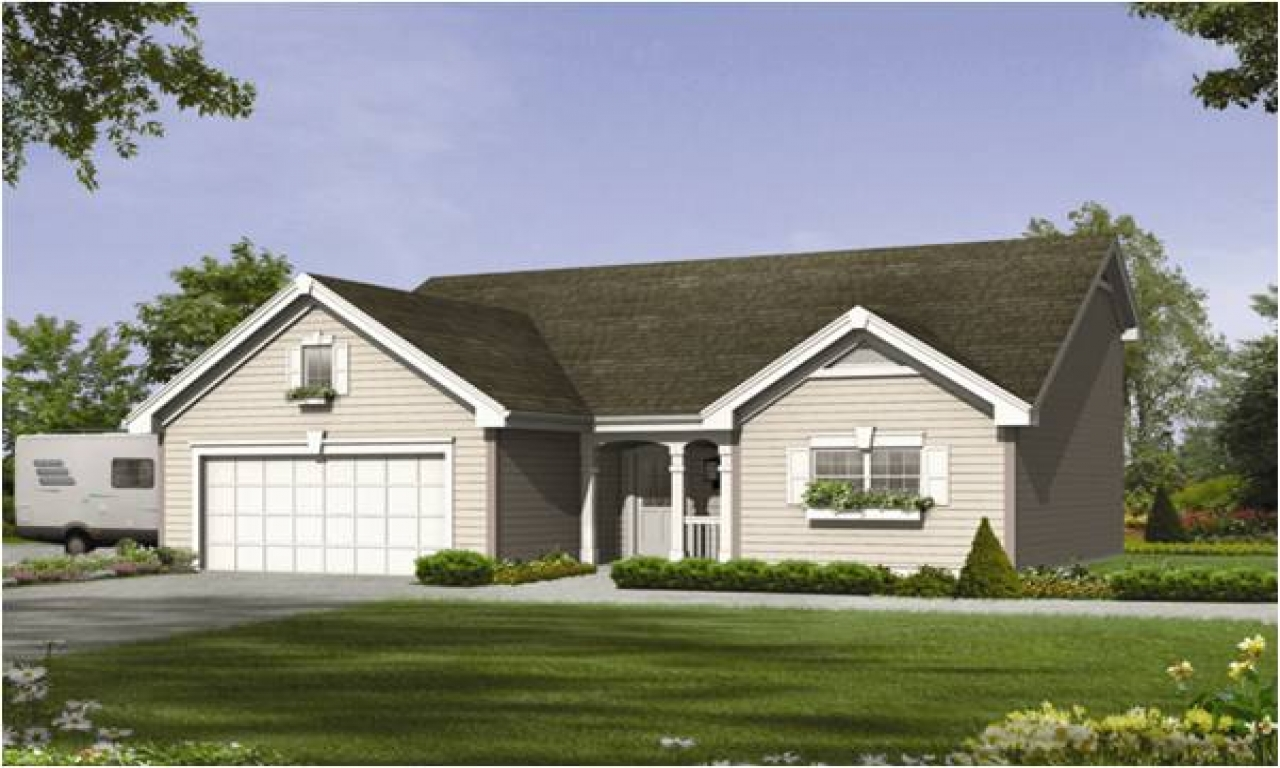 Cottage house plans with 3 car garage cottage house plans Ranch house plans with basement 3 car garage