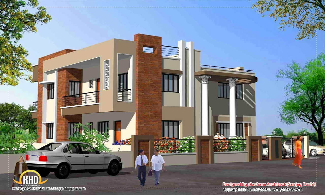 New N Home Elevation : Home elevation design india new elevations