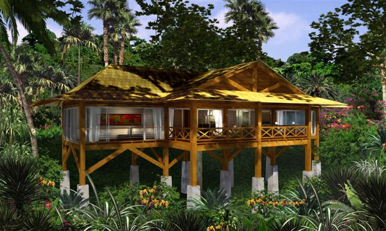 Jungle Houses On Stilts Plans Modern Stilt House, homes on ...