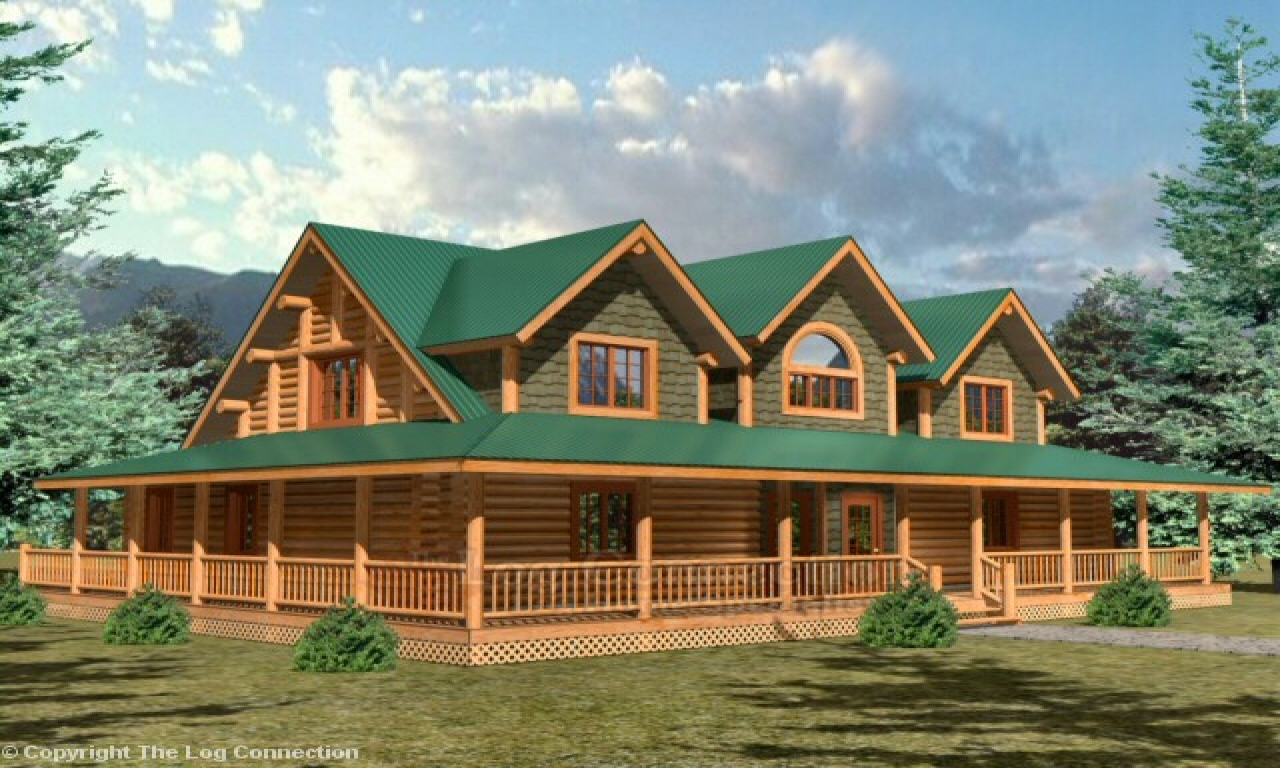 Log cabin home plans and prices log cabin house plans with for Lodge home designs