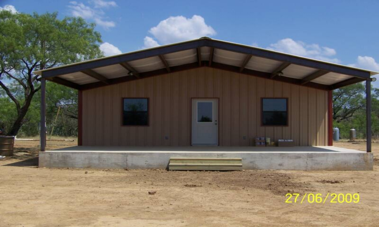 Metal buildings with living quarters metal building for Sheds with living space