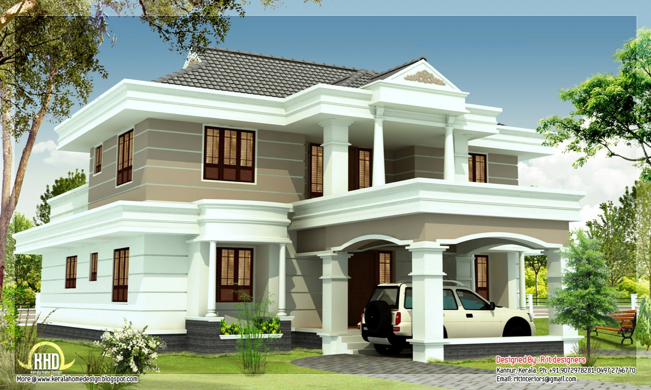 Modern small house plans beautiful house plans designs for Beautiful home floor plans