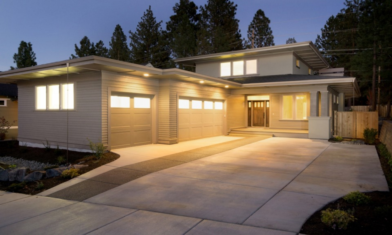Prairie house plan bend oregon work simple 1 800sf prairie for Prairie home plans frank lloyd wright