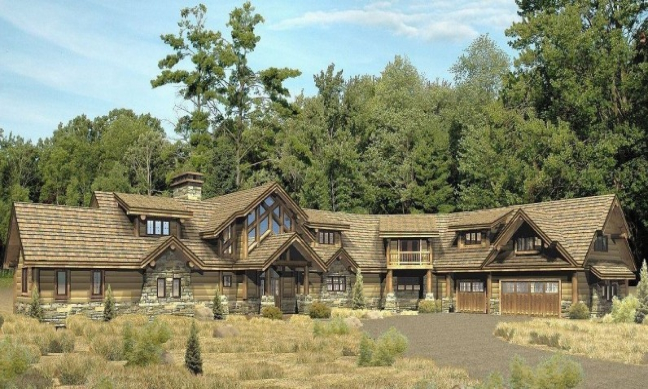 Tomahawk log homes country wisconsin log homes floor plans hybrid log home plans - Design homes wi ...