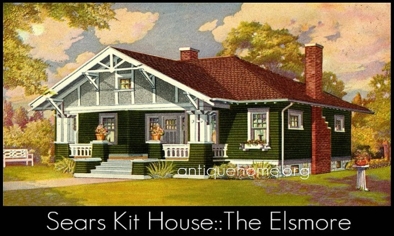 Sears Craftsman Homes Interiors Craftsman Style House