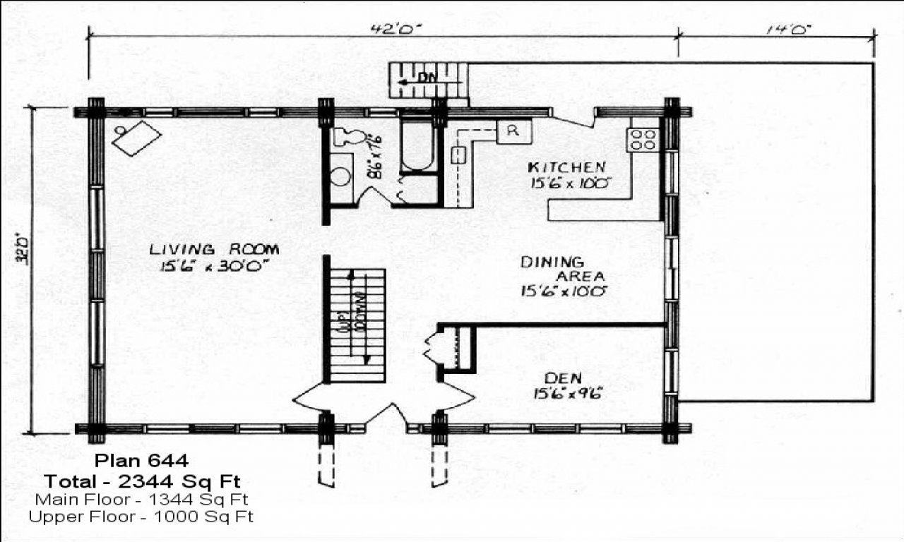 Small lake cabin plans small cabin plans under 600 sq feet for Small house plans under 600 sq ft