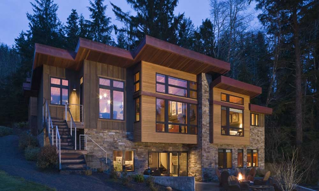 Contemporary Best Small Modern House Designs: Small Lake Home Designs Contemporary Lake House Designs