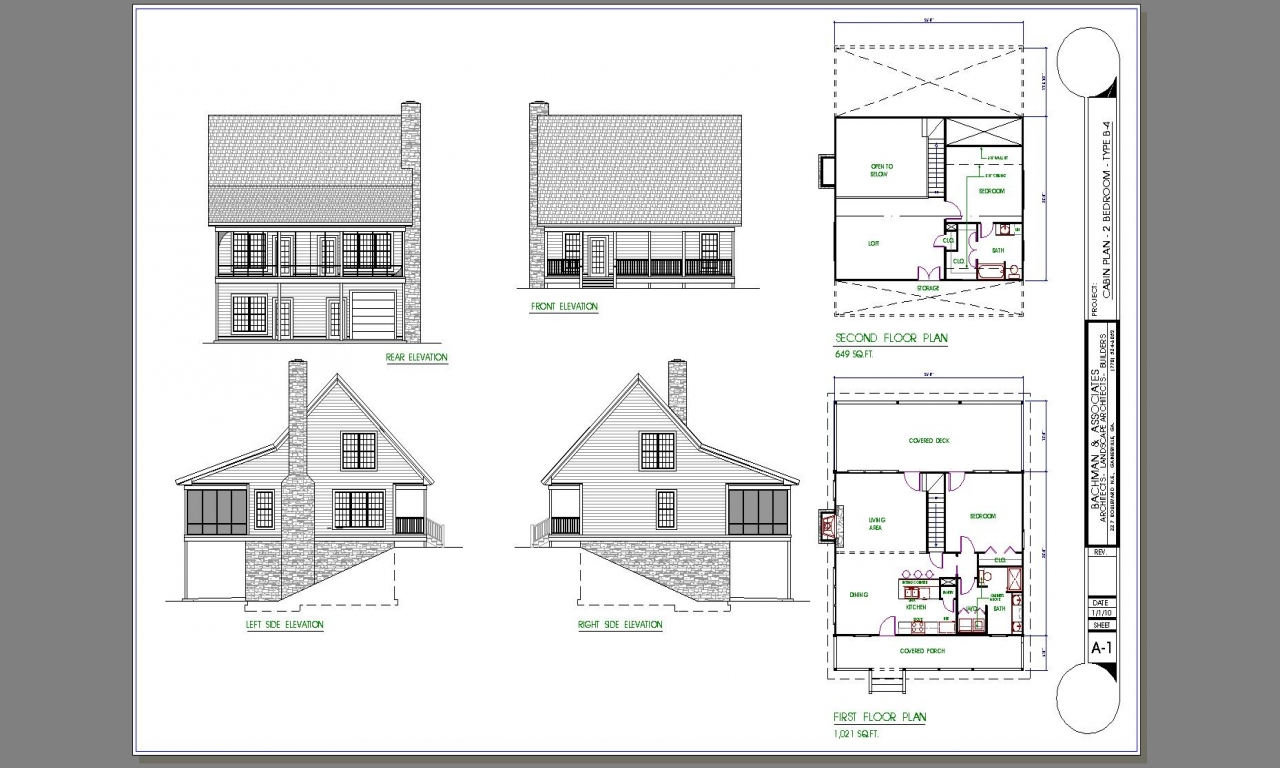 Tiny house plans 2 bedroom 2 bedroom cabin plans chalet for 9 bedroom house plans