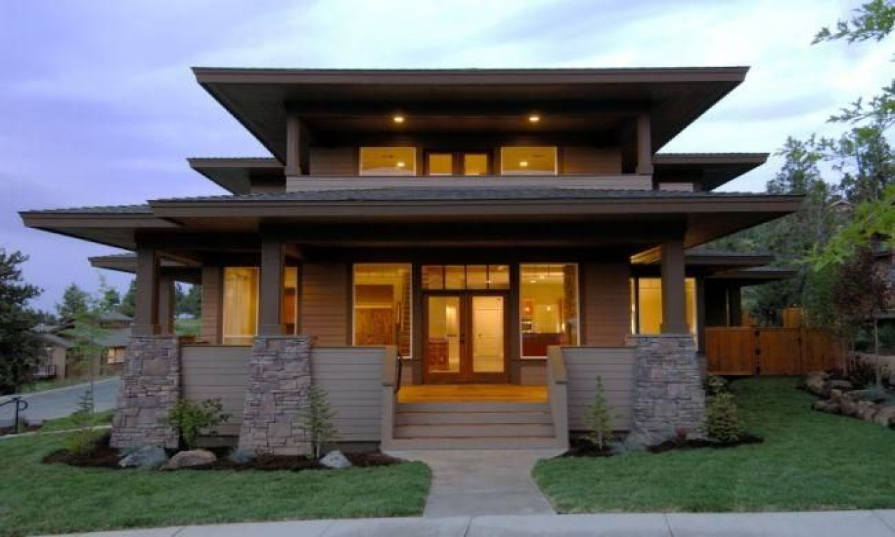 Craftsman bungalow style homes craftsman style home modern for Modern looking homes