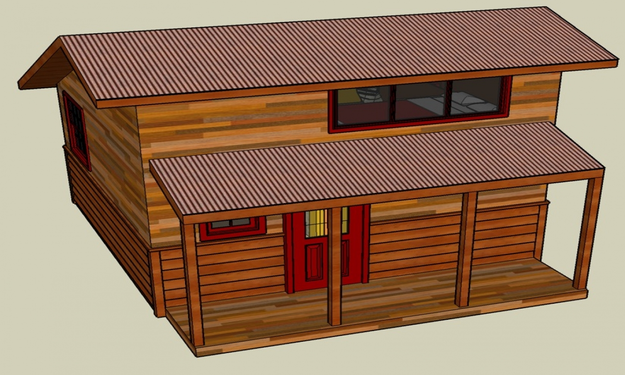 Google sketchup modern houses google sketchup small house for Google house design
