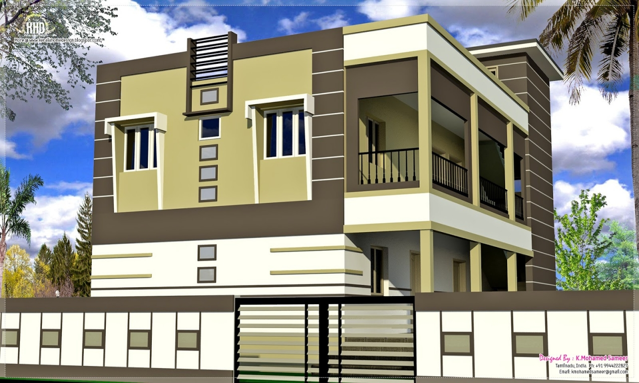 Indian exterior house designs country home exterior for Exterior house designs indian style