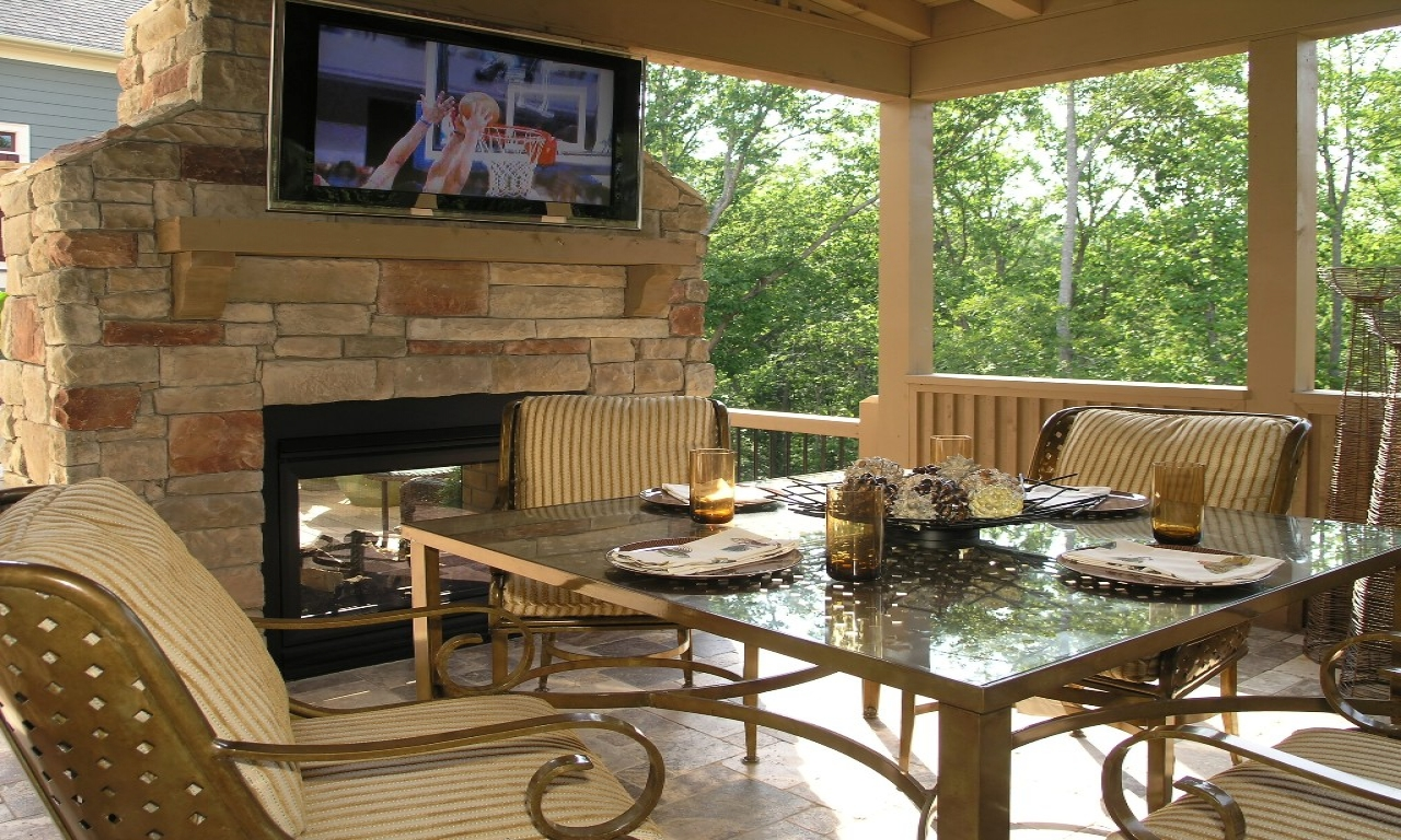 Outdoor Patio and Deck Ideas Lowe's Decks and Patios ... on Lowes Patio Design id=27964