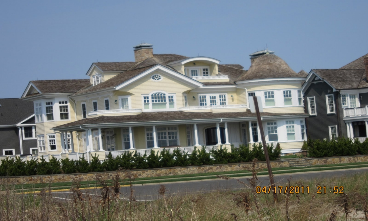 Pretty beach homes in new jersey new jersey beach houses for New jersey home builders