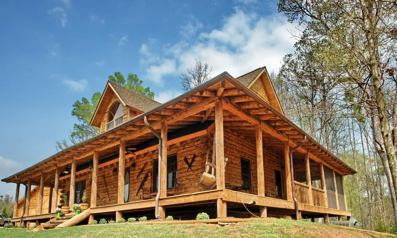Rustic House Plans With Wrap Around Porches Rustic House