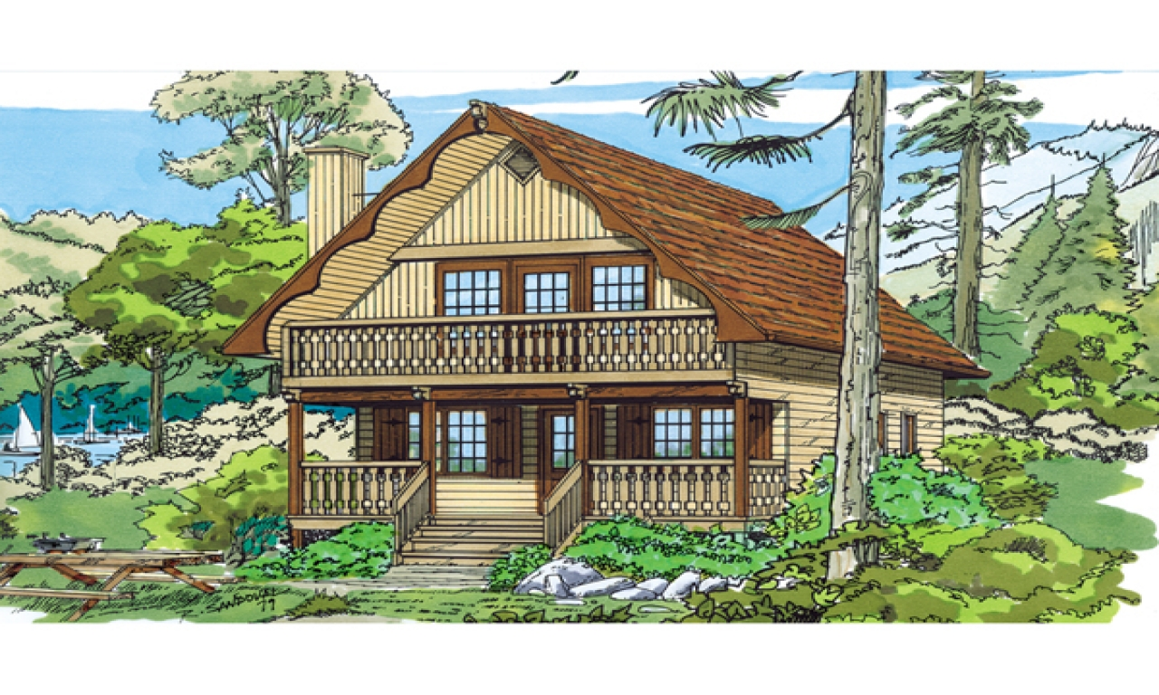 Swiss chalet style house plans mountain chalet house plans for Mountain chalet plans
