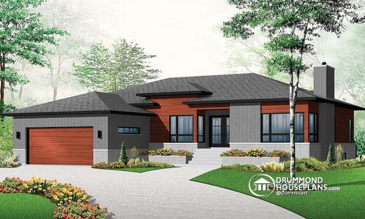3 Bedroom House Plans With Double Garage Luxury 3 Bedroom House Plans Ranch Bungalow House