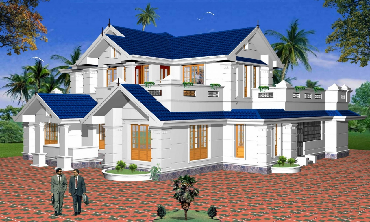 Beautiful home designs plans beautiful homes photo gallery for Residential house designs in india