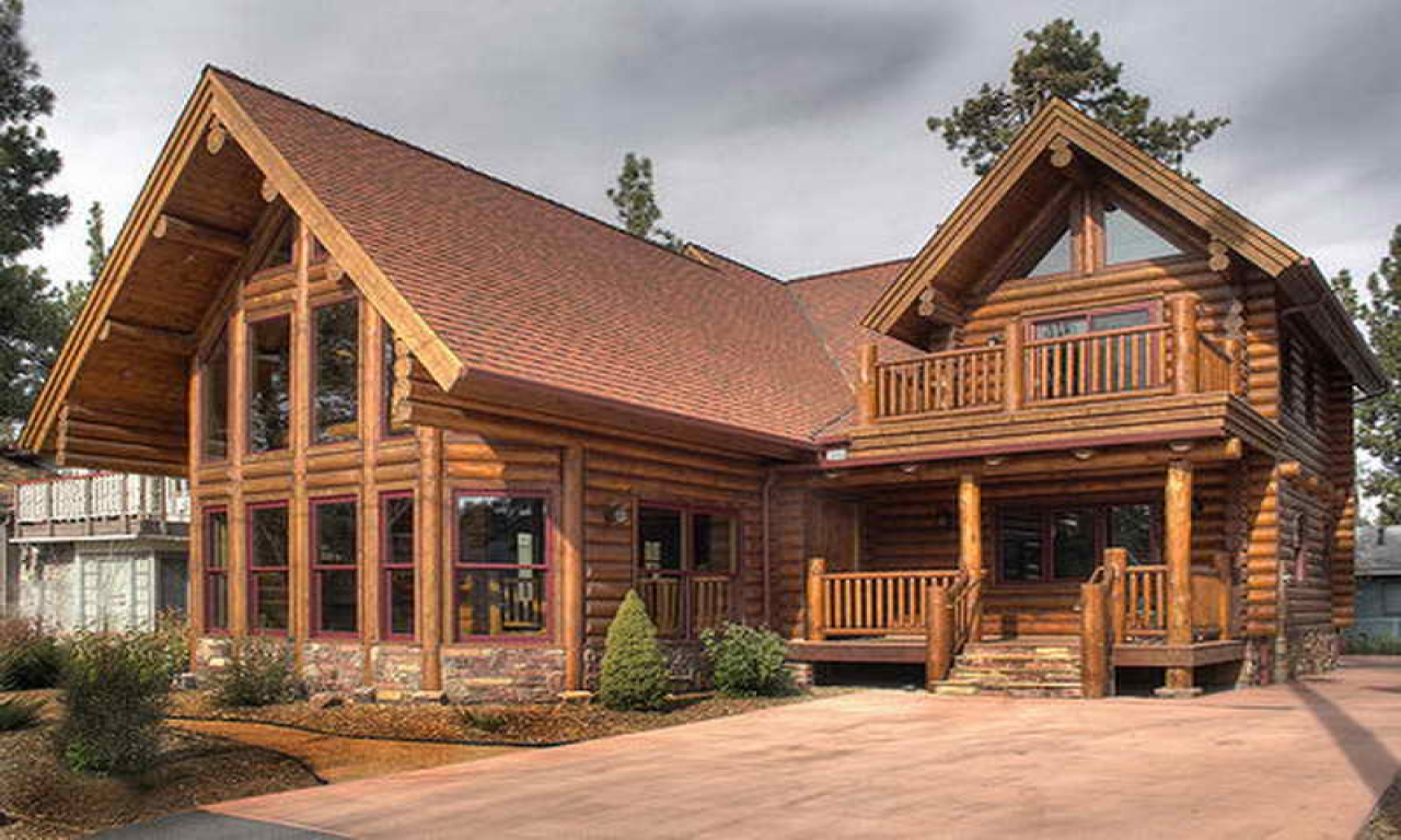 Big log cabin homes log cabin home log cabin designs and for Big log cabin homes