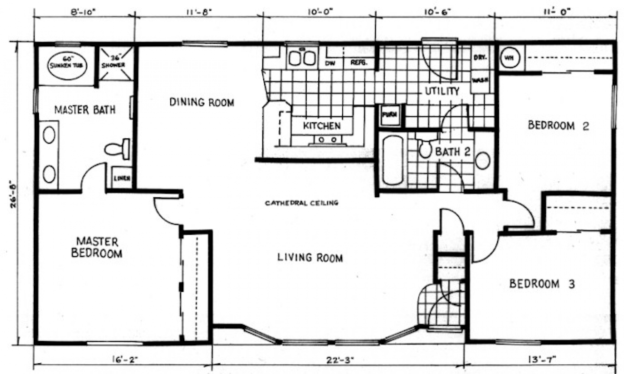 Country Cottage Home Floor Plans Cute Cottage Homes