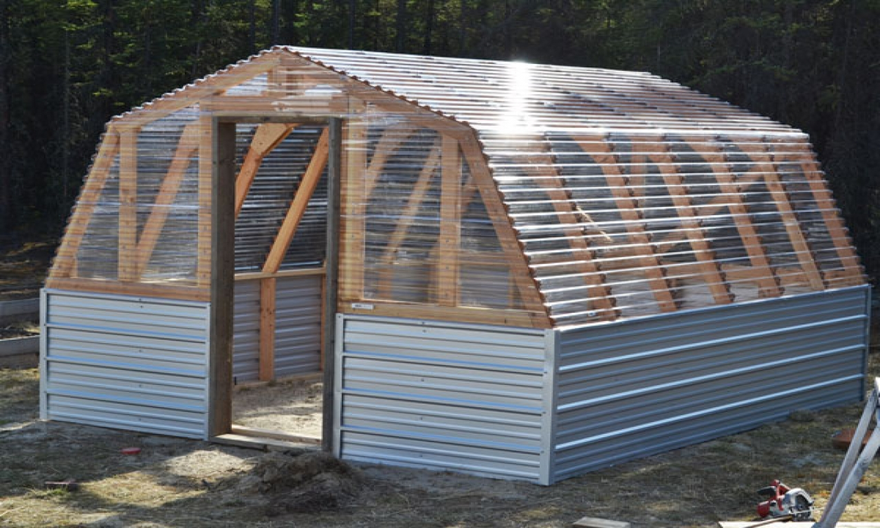 Do It Yourself Building Plans: Do It Yourself Greenhouse Plans Barn Greenhouse Plans