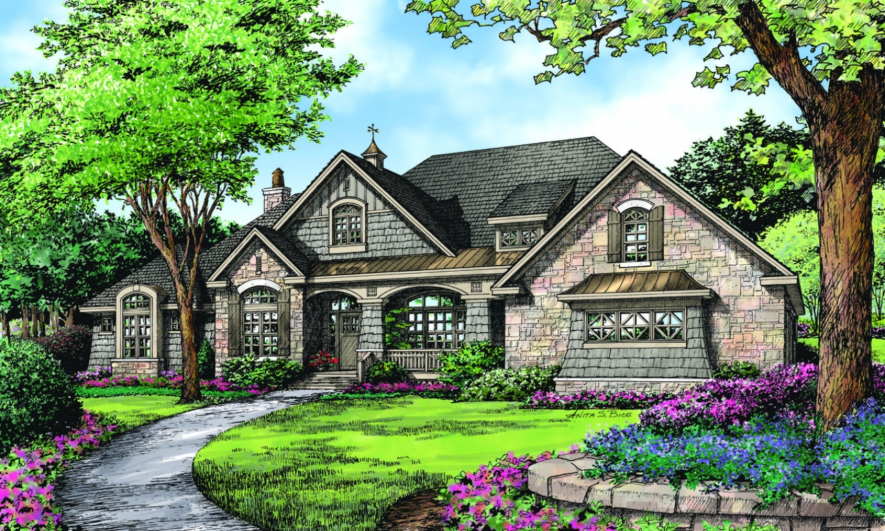 Don gardner chesnee house plan house plan donald gardner for Donald gardner house plans with walkout basement