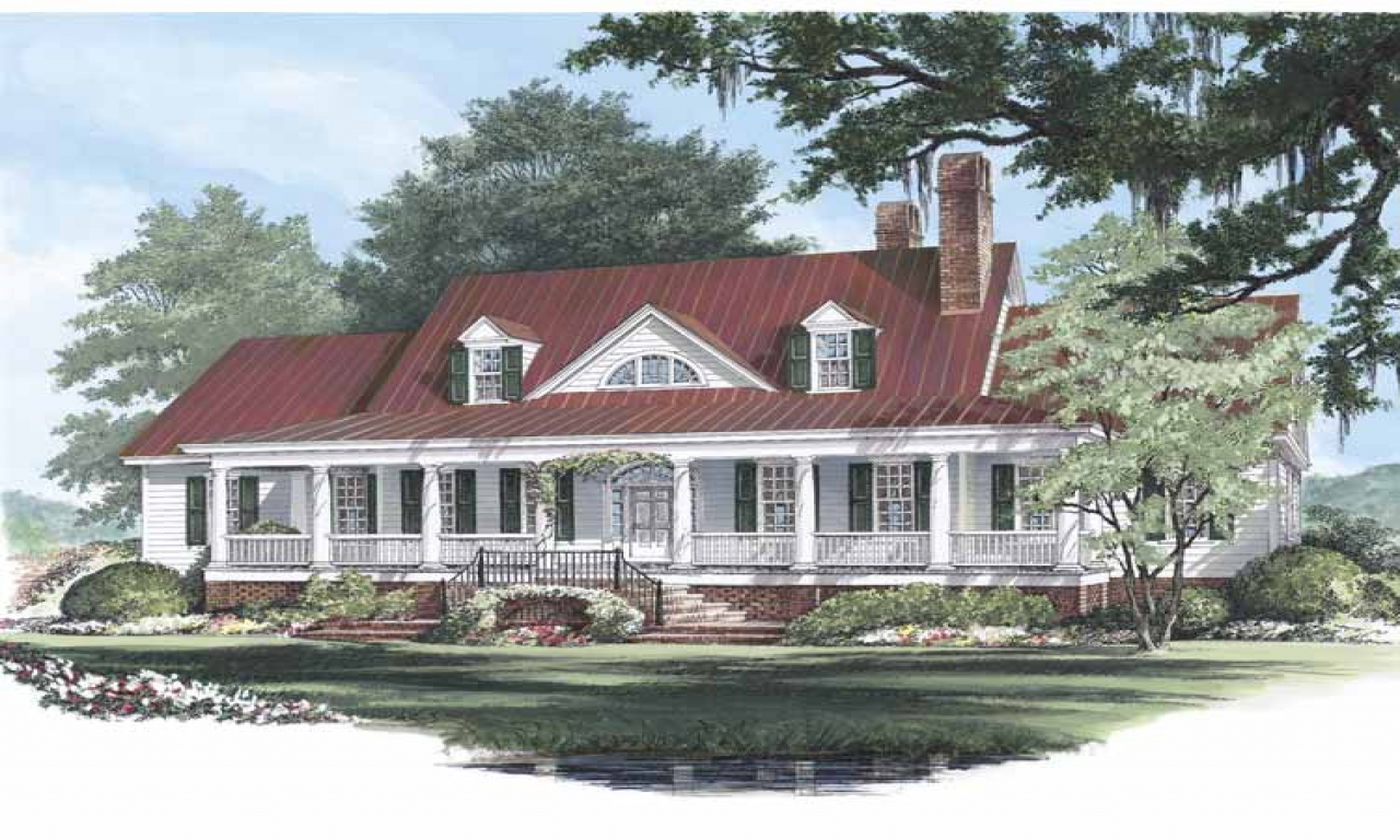Low country cottage house plans low country homes for Tidewater style homes