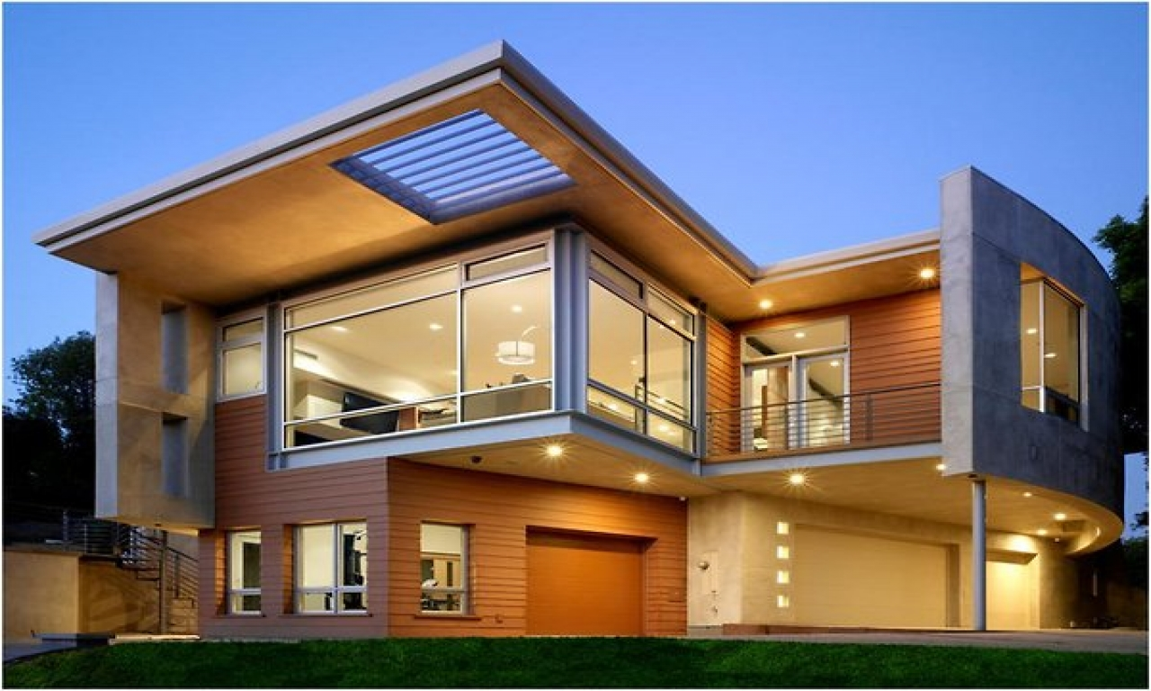 Modern home design exterior contemporary home exterior for Exterior design idea