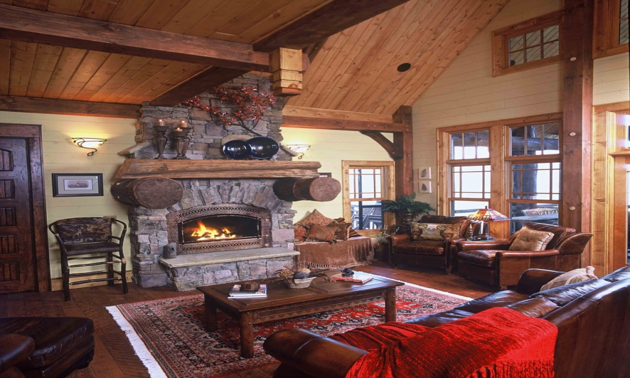 Mountain Lodge Interior Design Hunting Lodge Interiors