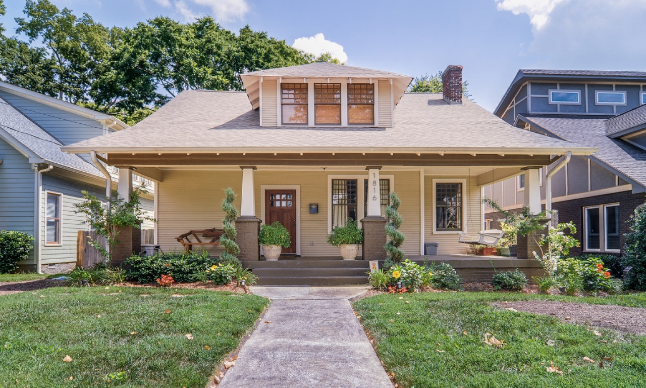 Ranch style homes craftsman craftsman bungalow style homes for Craftsman style home builders atlanta
