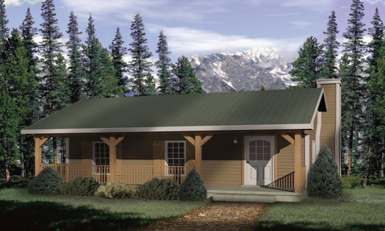 Rustic Country Cabin Plans Rustic Cabin With Porch Plans