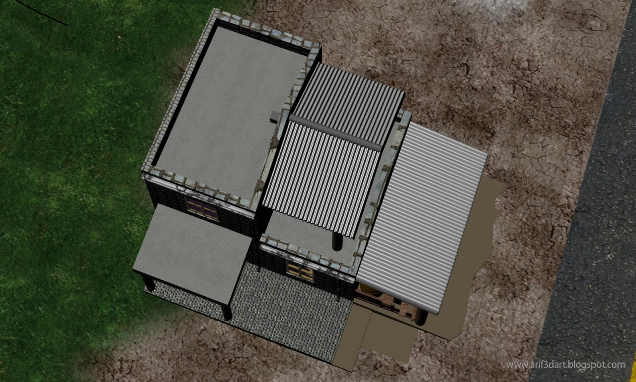 Satellite View House Address House Top View Top View Of