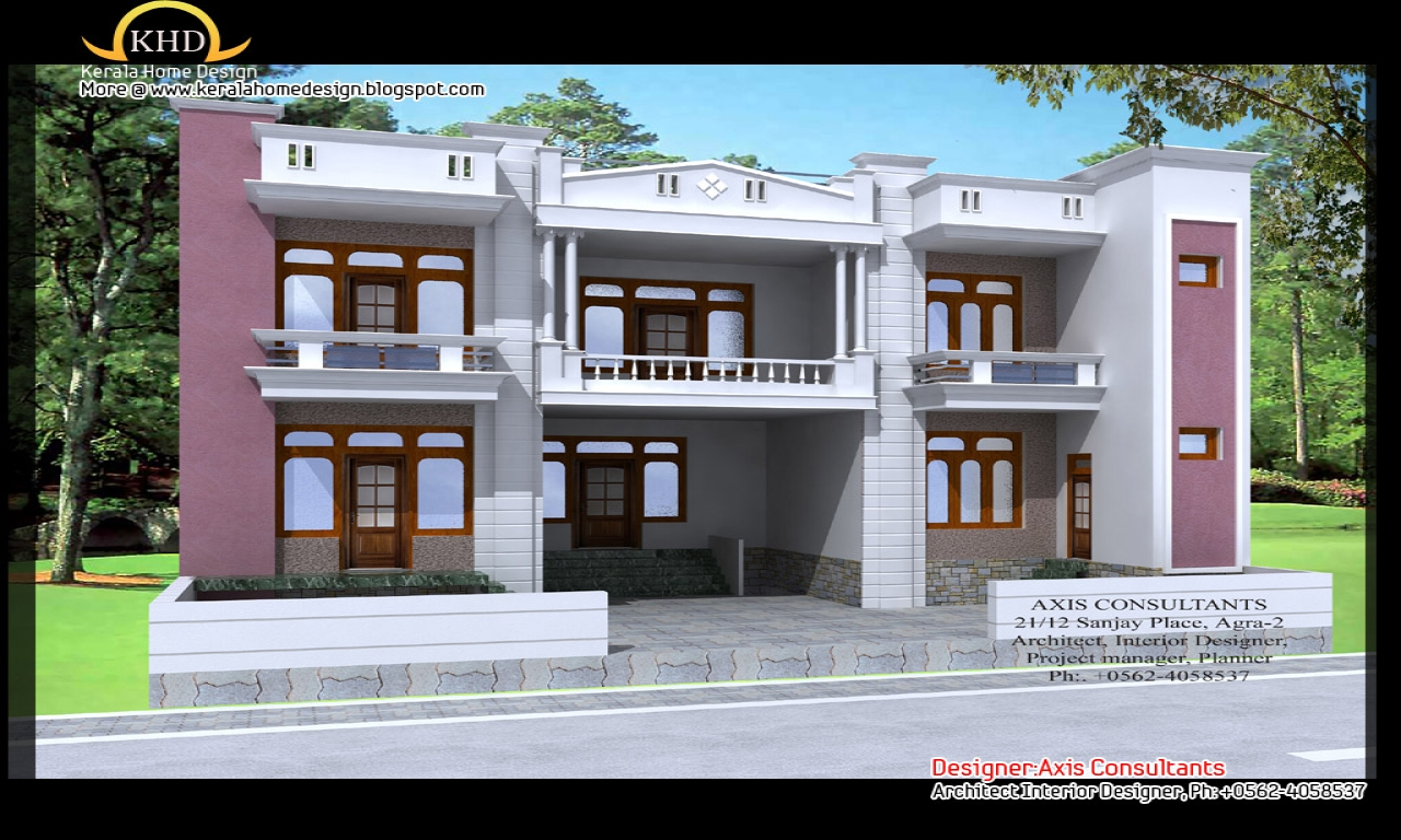 Front Elevation Of Small House : Small house elevation design simple front of