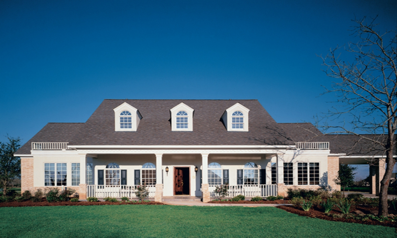 Southern style home plans southern style traditional home for Southern style ranch home plans