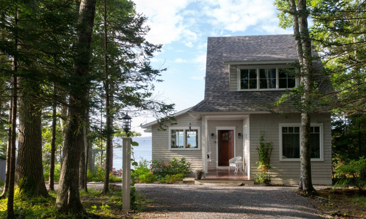 Spruce point boothbay harbor maine cottage boothbay harbor for Maine cottage house plans