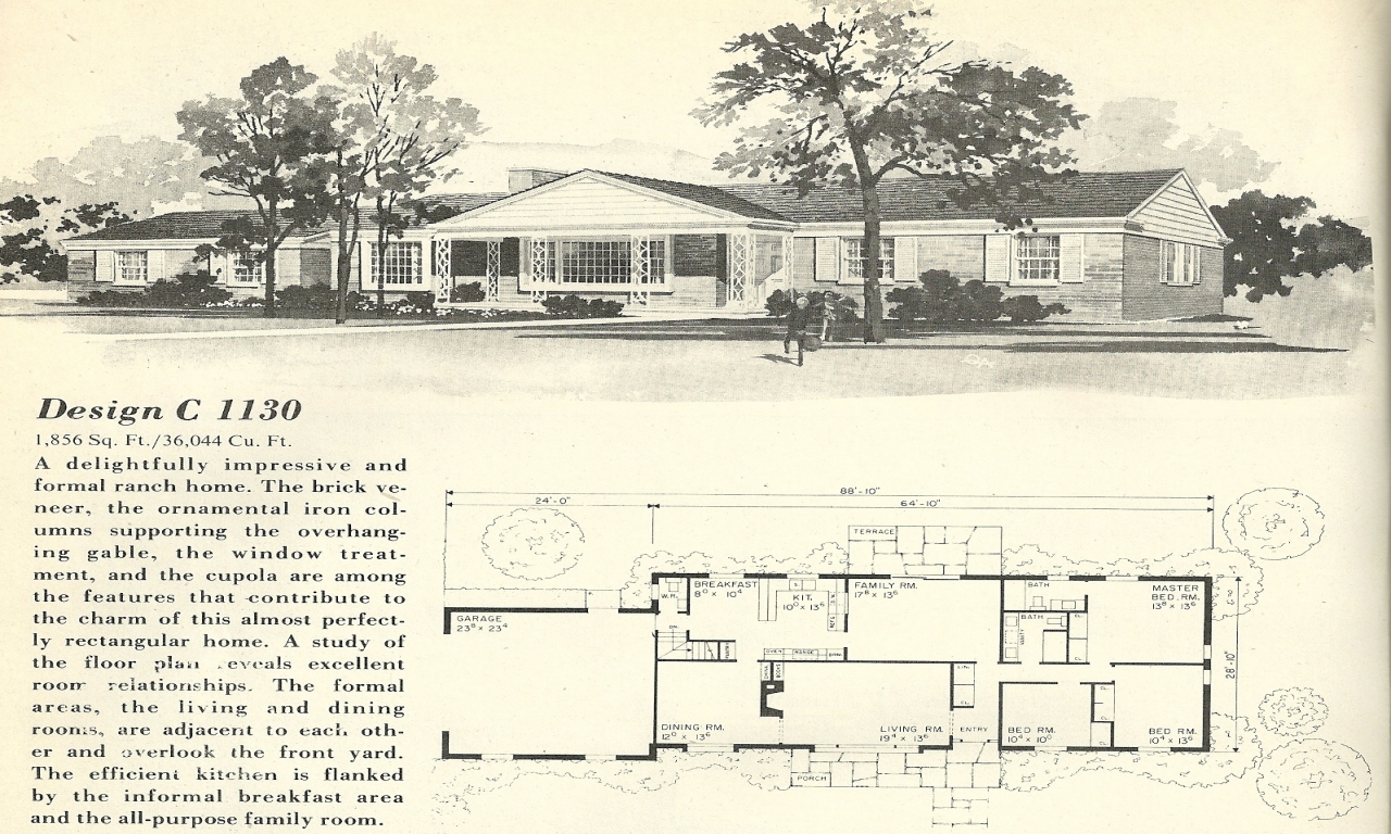 1960s ranch house floor plans updating 1960s ranch style
