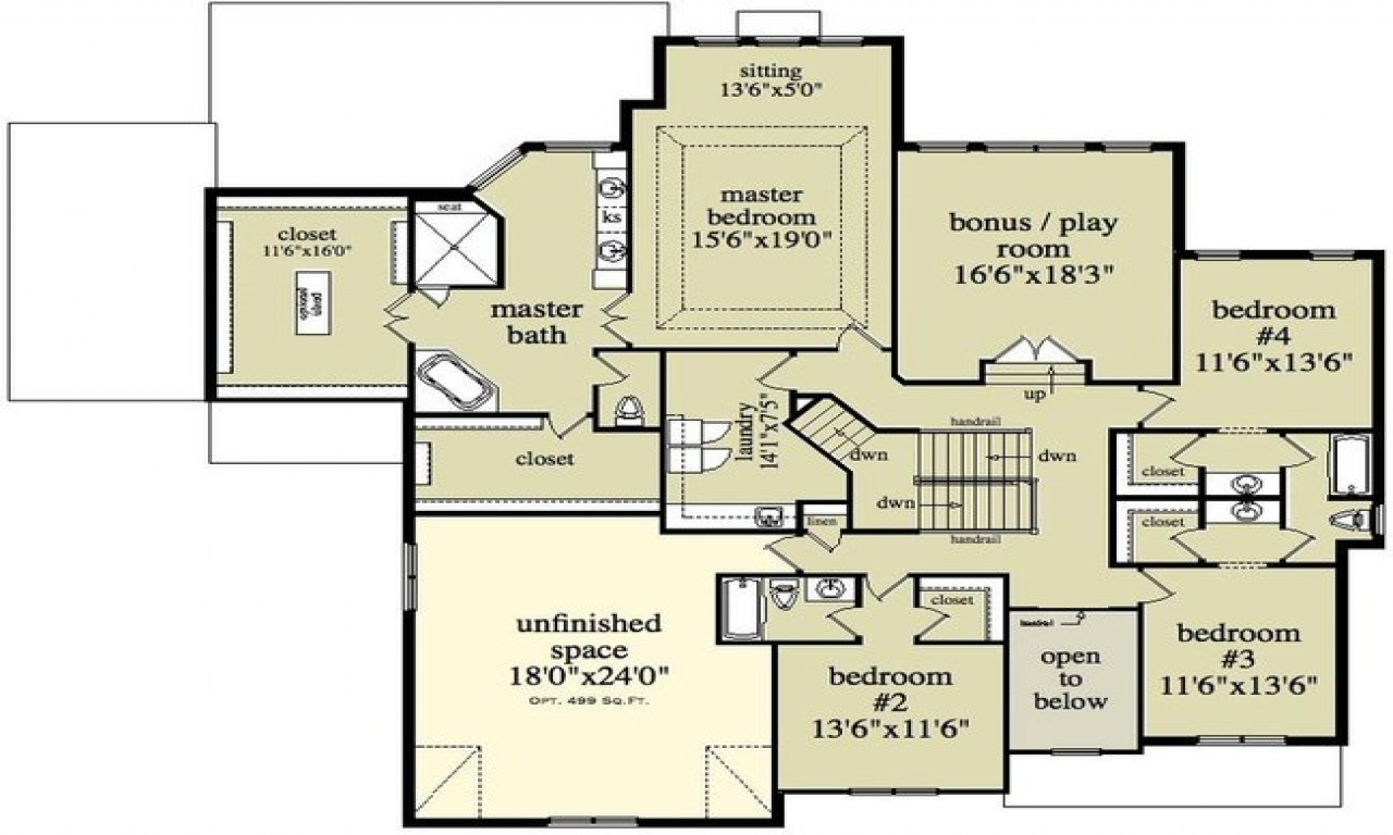 2 story house floor plans and designs sims 2 houses floor for Sims house plans free
