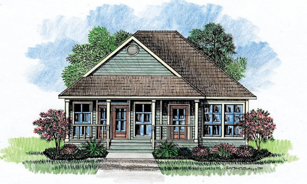 Acadian cottage house plans french acadian house plans for Cottage type house plans