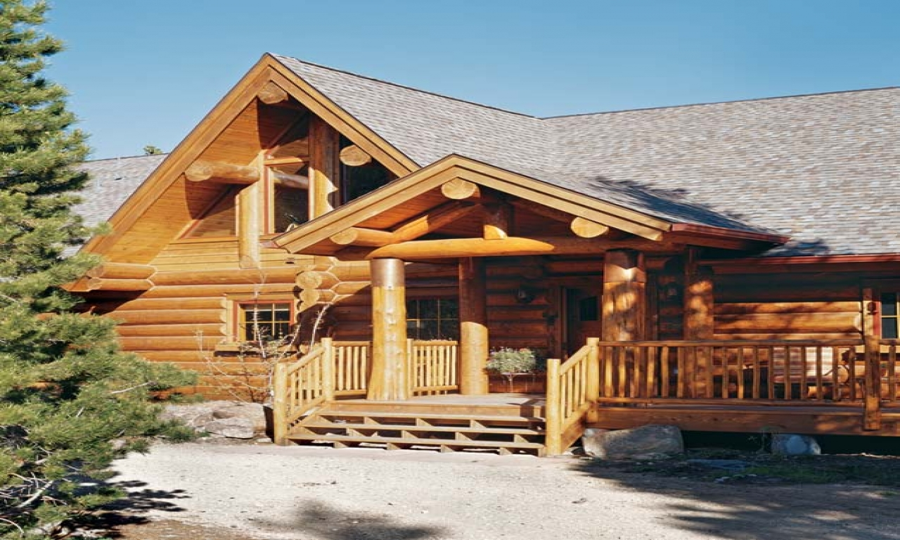 Alaskan Log Cabin Off Grid With The Mountains Mountain Log